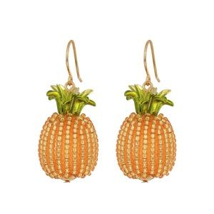KATE SPADE • By The Pool Pineapple Drop Earrings